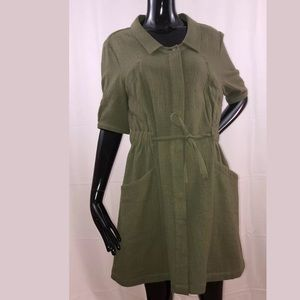 CALYPSO St Barth Snap Button Dress Large